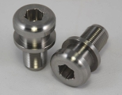 Titanium bar end weight with CRG Groove for Ducati Panigale 1199