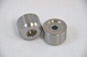 Kyle Racing Titanium 8mm bolt hole bar end weights (pair)